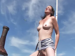 Toy solo, Shaved solo, Outdoor solo, Masturbation toy dildo, Masturbating dildo, Masturbation outdoor