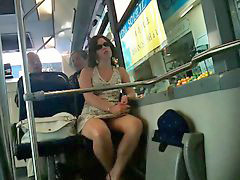 Bus, Upskirt, French