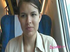 Pussy, Train, Training, Puss, Raine, In train
