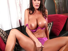 Lisa ann, Big tits solo, Big tits brunettes, Toy solo, Shaved solo, Big tit milf