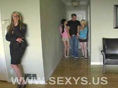 Teen, Teen blow, Lesson, Low teen, Milf teen, Hot milf