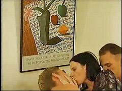 Threesome, Bisexual, Bisexual threesome, Bisexuål, Bisexuál, Bisexueal