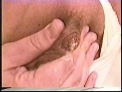 Big cock, Big tits brunettes, Big tits sucks, On her knees, Brunette big tits, On ass