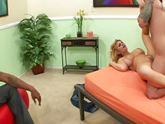 Shaving, Blond milf, Big cock blowjob, Blowjob&fucking, Big tit milf, Sex cock
