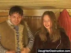 Kız çocuk babası sikiyor, Kızını sikmek, Kizi, Sert, Kızını, Kızı