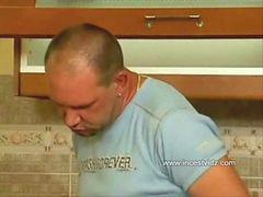 Pحامله, Hاشپزخانه, آشپزخانه, حامله, دختر با پسر