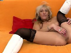Works hard, Working horny, Working hard, Pussy stockings, Pussi mom, Stockings work