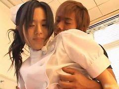 Asian, Asian show, Show off, Cute asian, Shows off, Nurse cute