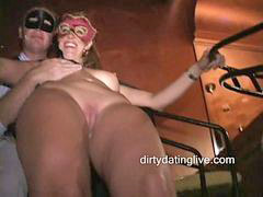 Milf, Orgy, Jeans, Masked, Hard cock, Org
